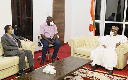 Assemblée Nationale : Le président de l'Institution reçoit l'ambassadeur du Pakistan et celui d'Egypte au Niger