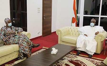 Assemblée Nationale : Le Président Seini Oumarou reçoit plusieurs personnalités